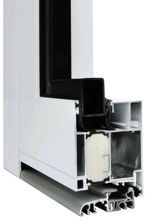 Querschnitt Kompakt Plus Aluminium-Haustüren Wirus - pmt Aluhaustüren für München und Rosenheim