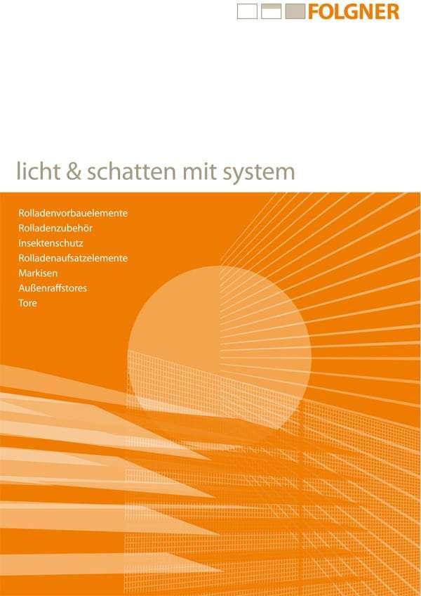 Beratungshandbuch Folgner Rollladen und Sonnenschutz - pmt Vorsatzrollo und Raffstore für Rosenheim und München