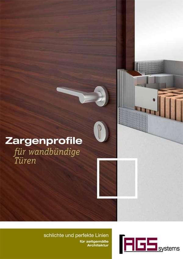 Katalog Herba Zimmertüren AGS-Profile Undercover Zarge wandbündig - pmt Innentüren für München und Rosenheim