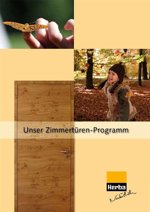 Katalog Herba Zimmertüren aus Holz - pmt Innentüren für München und Rosenheim
