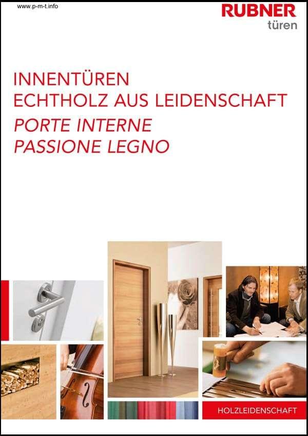 Innentüren-Katalog Rubner Echtholz - pmt Türen für Rosenheim und München