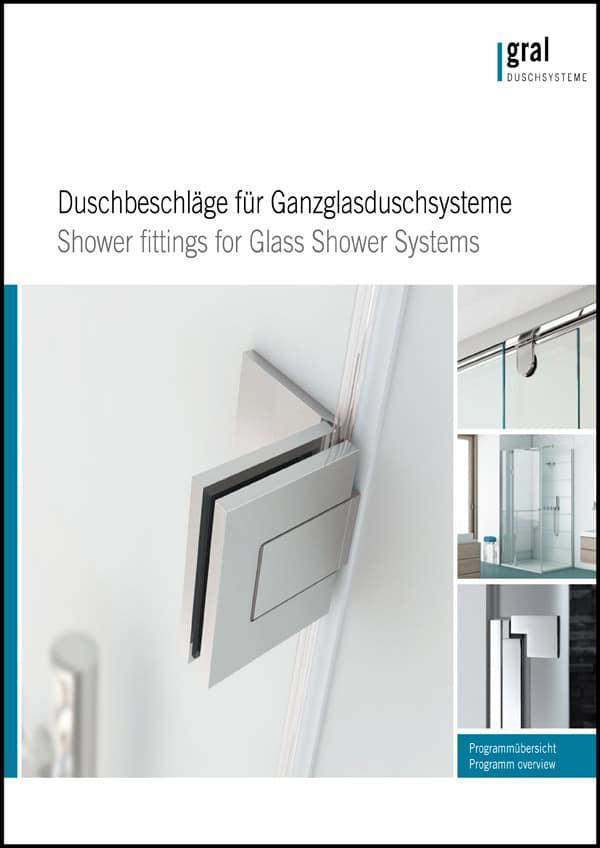 Katalog GRAL Glasduschbeschläge - Ganzglasduschen, Eckduschen, Nischenduschen - Walk-in-Duschen - pmt Glasduschen für Rosenheim und München