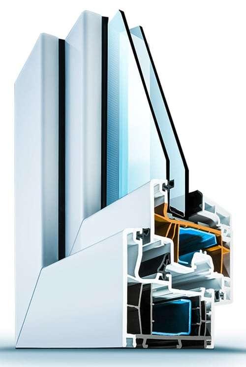 Kunststofffensterprofil Wirus MD 76 Elegant - pmt Fenster für München und Rosenheim