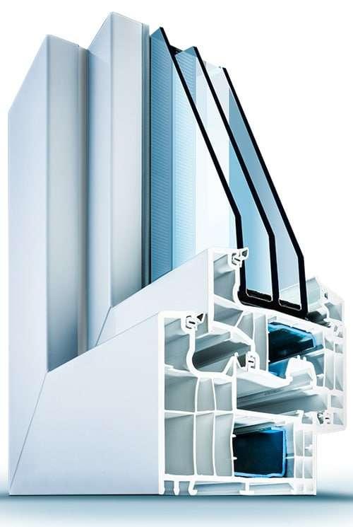 Kunststofffensterprofil Wirus MD 92 Elegant mit optimaler Wärmedämmung - pmt Fenster für München und Rosenheim