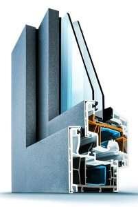 Kunststofffenster Wirus MD 76 Exclusiv AluColor mit Alu-Vorsatzschale - pmt Fenster für München und Rosenheim