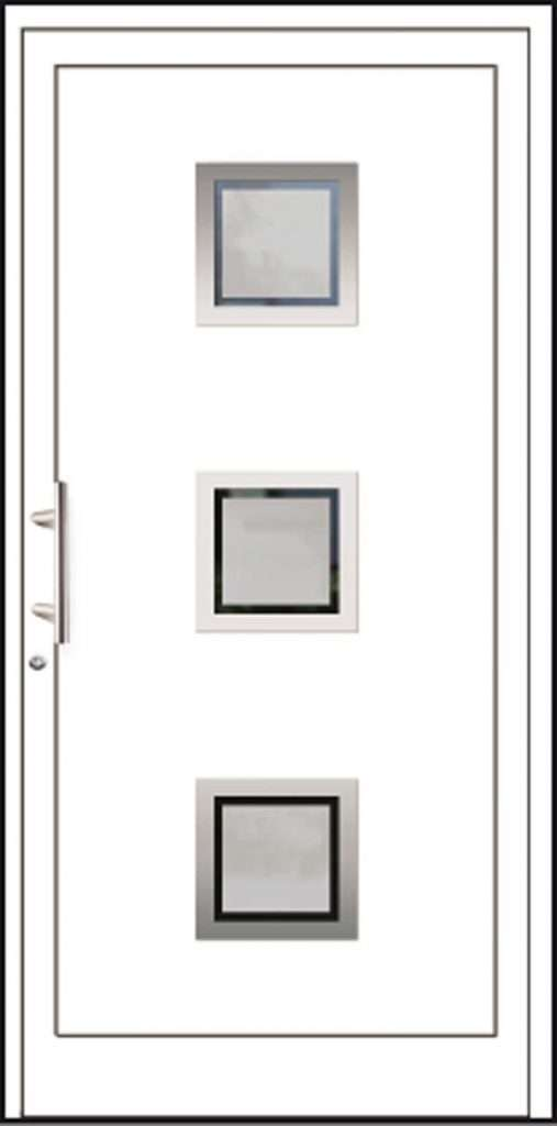 Aluminium-Haustüren Aktion Basic Class Modell Andele