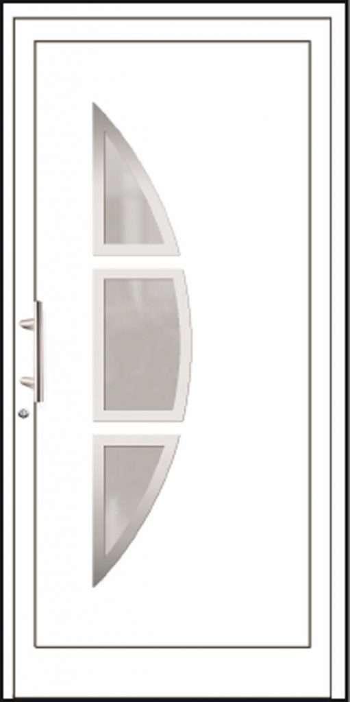 Aluminium-Haustüren Aktion Basic Class Modell Fenni
