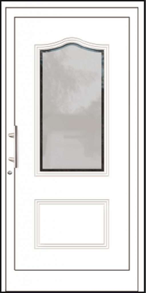 Aluminium-Haustüren Aktion Basic Class Modell Janni
