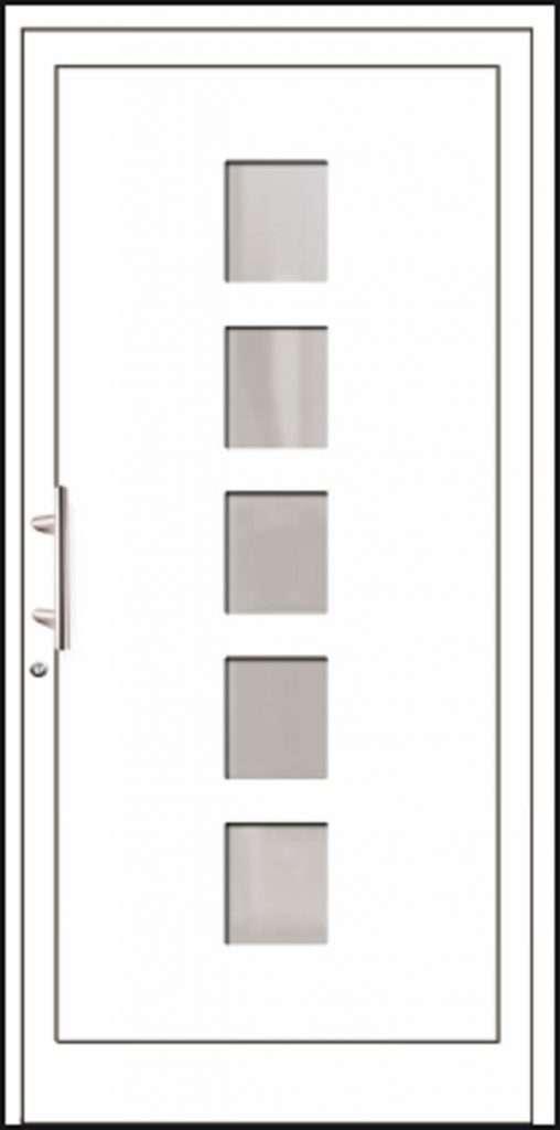 Aluminium-Haustüren Aktion Basic Class Modell Meha