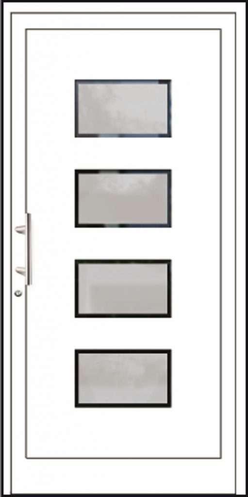 Aluminium-Haustüren Aktion Basic Class Modell Nilda