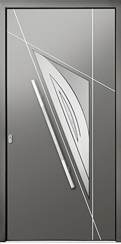 Aluminium-Haustüren Wirus Modell Agger - pmt Aluhaustüren für München und Rosenheim