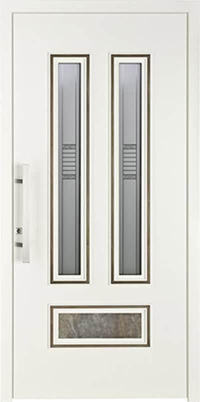 Aluminium-Haustüren Wirus Modell Ulster 2 - pmt Aluhaustüren für München und Rosenheim
