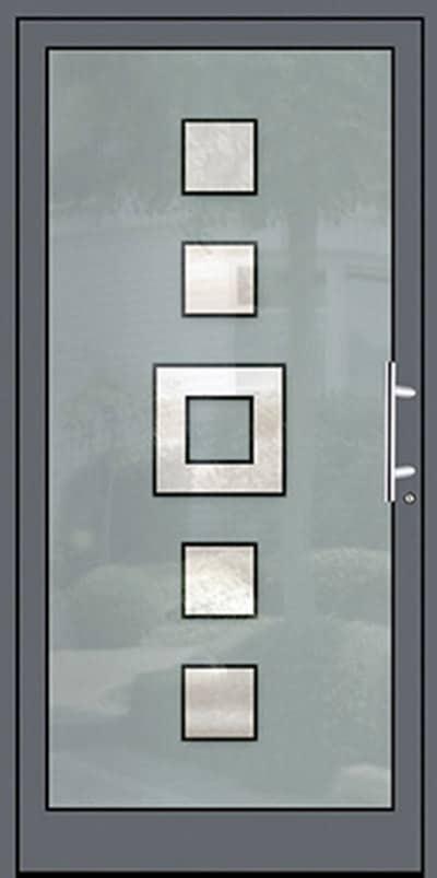 Aluminium-Haustüren Wirus Modell deilbach - pmt Aluhaustüren für München und Rosenheim