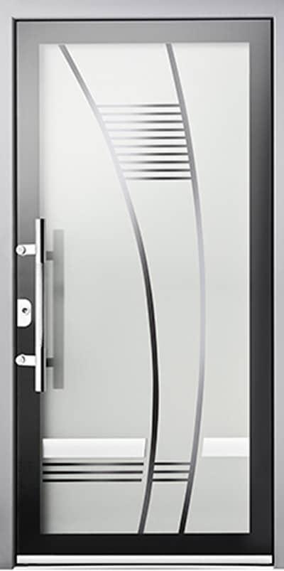 Aluminium-Haustüren Wirus Modell Lauter - pmt Aluhaustüren für München und Rosenheim