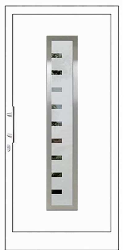 Aluminium-Haustüren Wirus Modell Bever E - pmt Aluhaustüren für München und Rosenheim