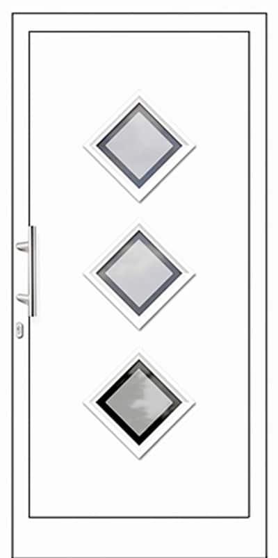 Aluminium-Haustüren Wirus Modell Maurine - pmt Aluhaustüren für München und Rosenheim