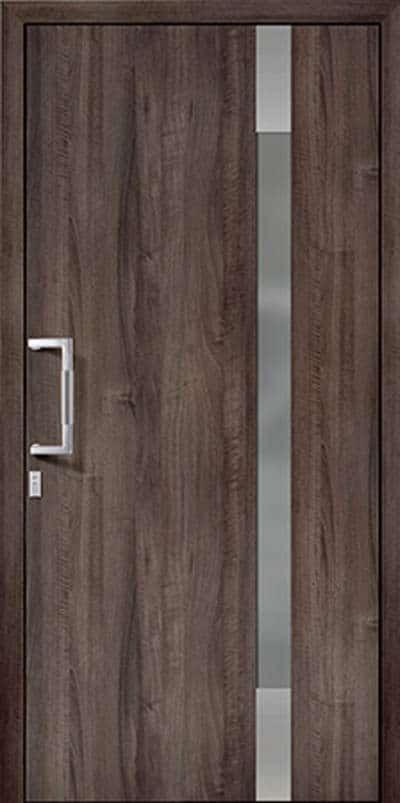 Aluminium-Haustüren Wirus Modell Nahe - pmt Aluhaustüren für München und Rosenheim
