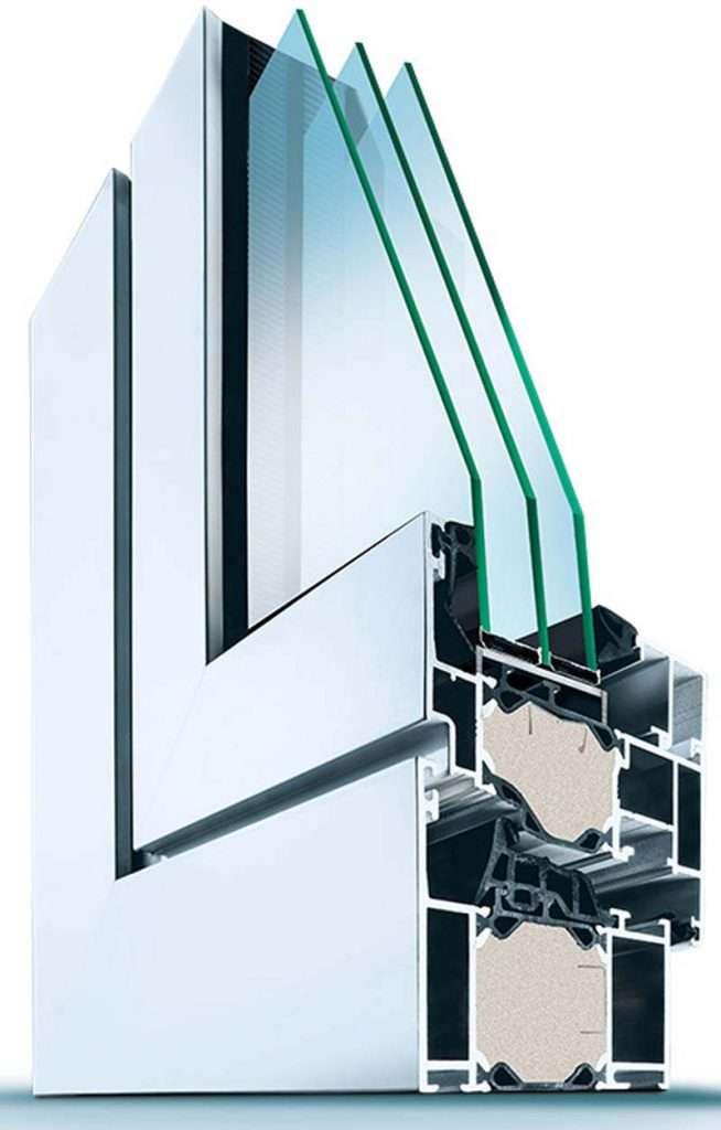 Aluminium-Fenster Wirus MD 72-84 Exakt - pmt Fenster für München und Rosenheim