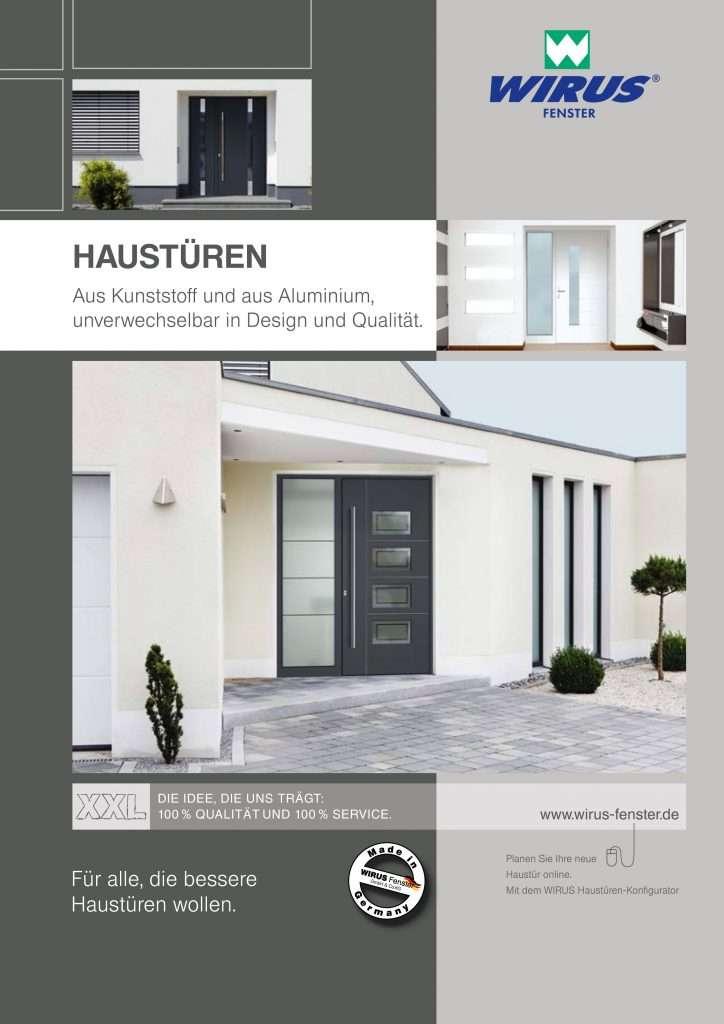 Katalog Aluminium-Haustüren Wirus Gesamt - pmt Aluhaustüren für München und Rosenheim