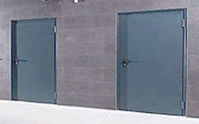 Brandschutztüren, Feuerschutztüren, T30, T90, mit Rauchschutz