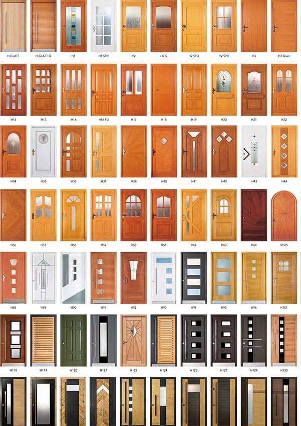 Folder Holzhaustüren Rubner - pmt Haustüren für München und Rosenheim