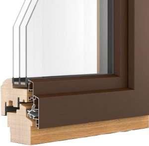 Querschnitt für Döpfner Holz-Alu-Fenster - pmt Kolbermoor Fenster für Rosenheim und München