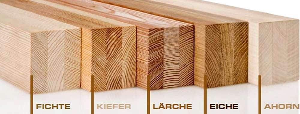 Holzarten für Döpfner Holzfenster und Holz-Alu-Fenster - pmt Kolbermoor Fenster für Rosenheim und München