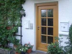 Holzhaustueren-Referenzen Storandt Neubeuern - pmt Haustüren für München und Rosenheim