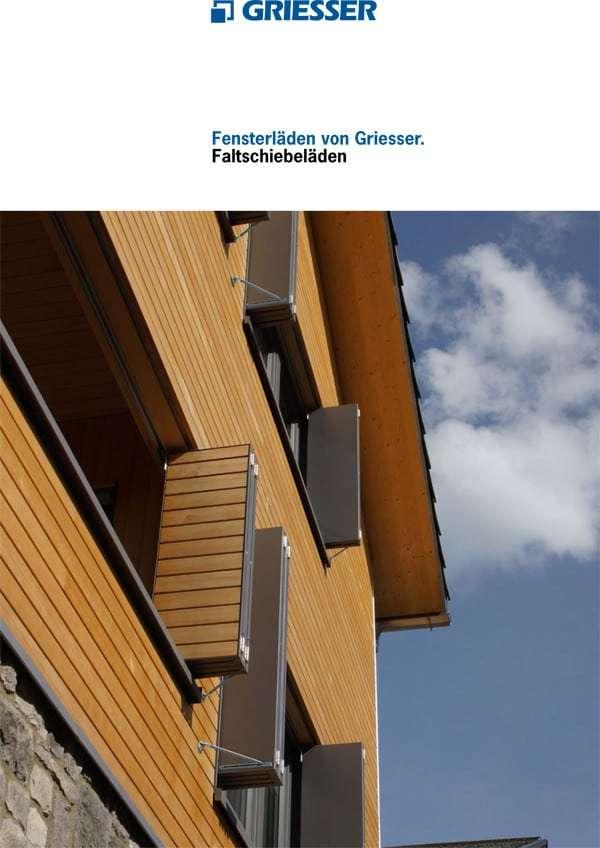 Katalog Alu-Faltschiebeläden, Fensterläden - pmt Alu-Schiebeläden für München und Rosenheim