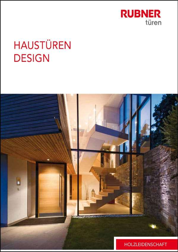 Katalog Rubner Holzhaustüren - pmt Haustüren für München und Rosenheim