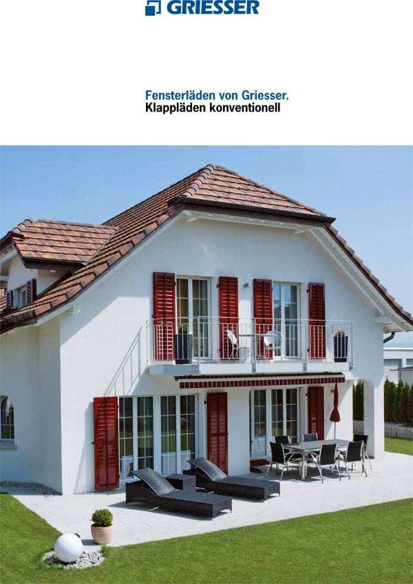 Katalog Alu-Klappläden konventionell, Fensterläden - pmt Fensterläden für München und Rosenheim