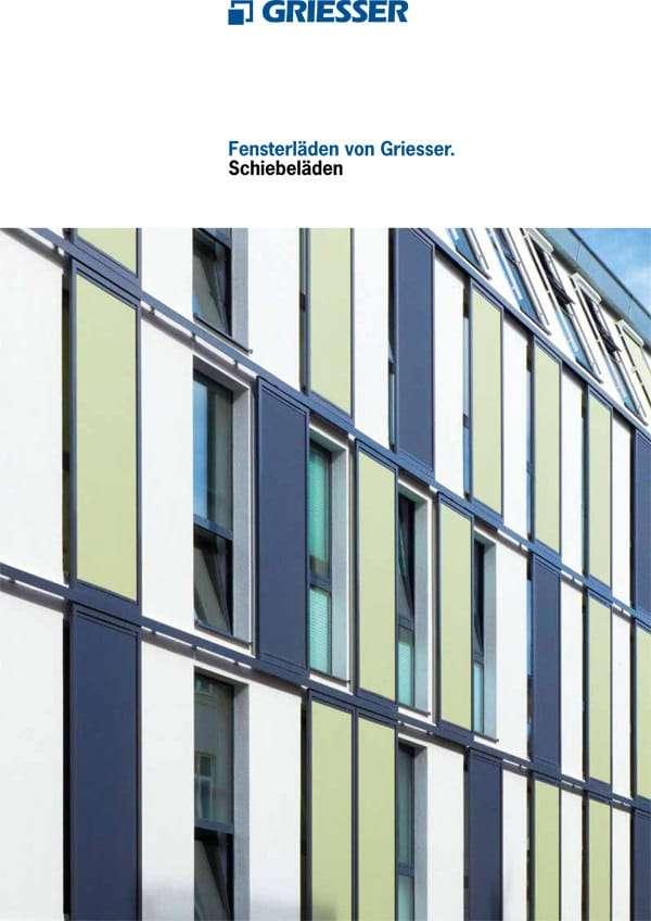 Katalog Alu-Schiebeläden, Fensterläden - pmt Aluminium-Schiebeläden für München und Rosenheim