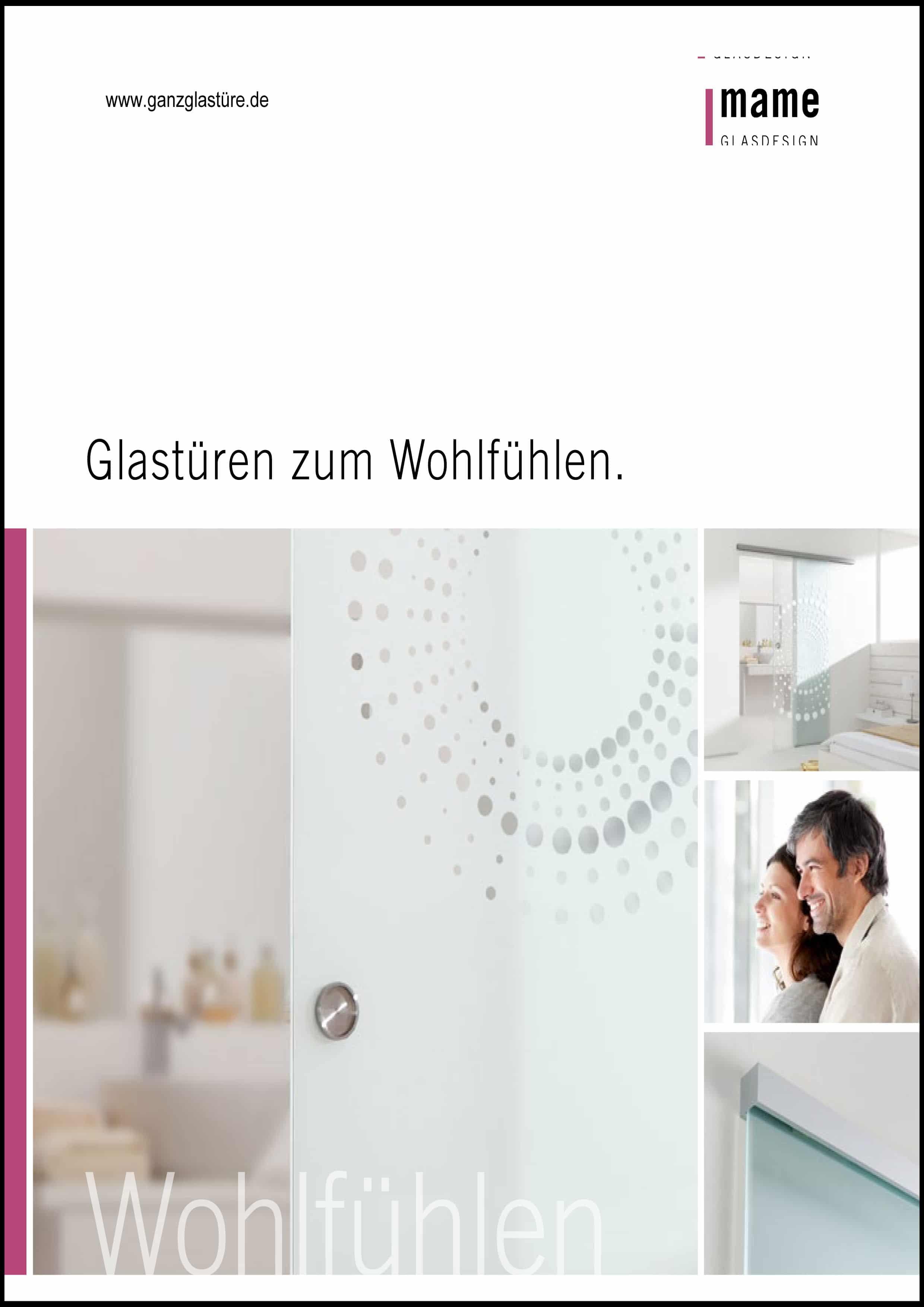 Katalog MAME Glastüren - pmt Glastüren für Rosenheim und München
