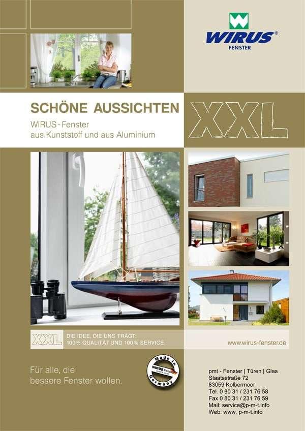 Prospekt Wirus Kunststofffenster - www.p-m-t.info