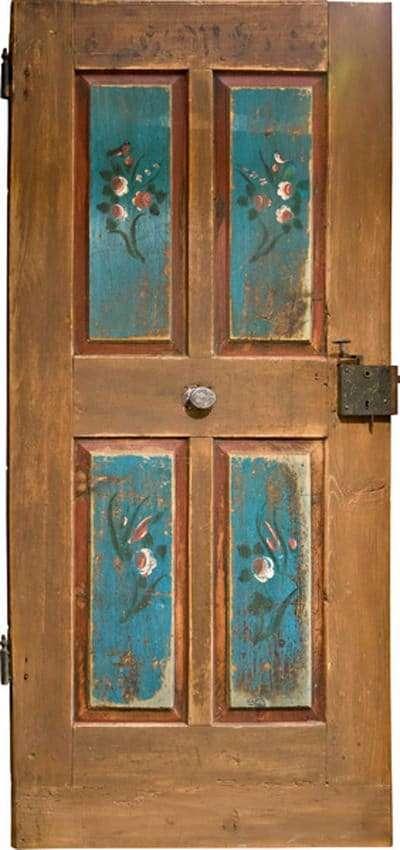 Zimmertüren Rubner Holztüren Altholz mit Füllungen und Malerei - pmt Innentüren für Rosenheim und München