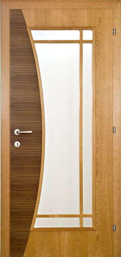 Zimmertüren Rubner Holztüren Glatt mit Lichtausschnitt und Sprossen, Furniereinsatz - pmt Innentüren für Rosenheim und München