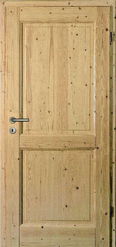 Zimmertüren Türelement Sühac Castell 2CA Fichte hell pigmentiert Massiv - pmt Innentüren für Rosenheim und München
