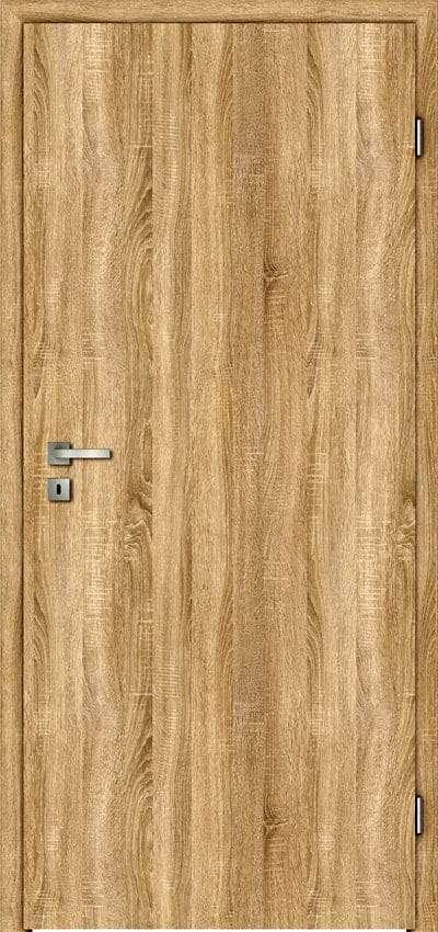 Zimmertüren Türelement Sühac glatt Oberfläche CPL Touch Eiche - pmt Innentüren für Rosenheim und München