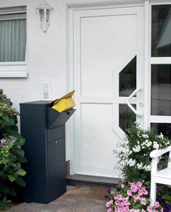 Zustellbox Briefkasten Diebstahlschutz - pmt Briefkästen für Rosenheim und München